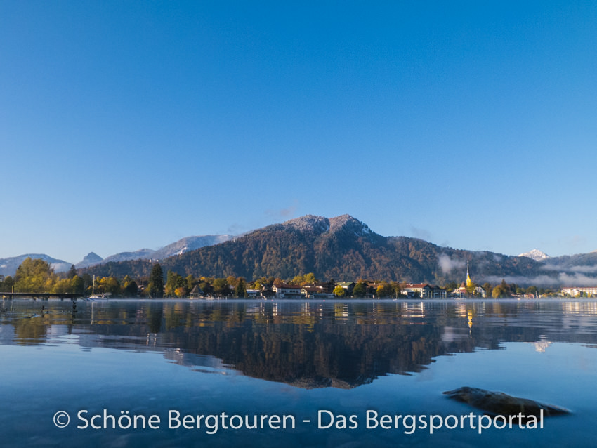 Tegernsee - Blick nach Rottach