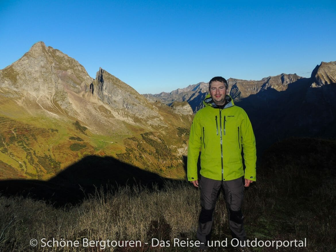 Marmot Alpinist Jacket - Test in Allgaeuer Alpen