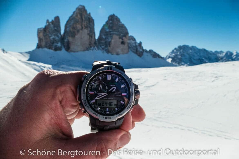 Pro Trek PRW-6000 - Italien - Suedtirol - Sextner Dolomiten - Drei Zinnen