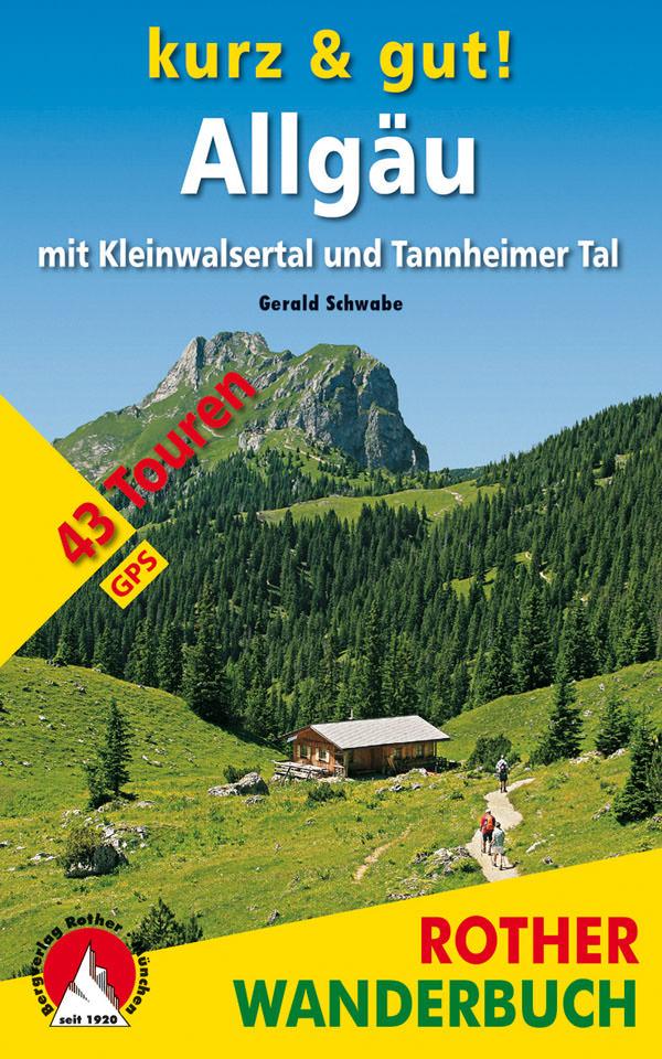 Wanderbuch kurz und gut Allgaeu