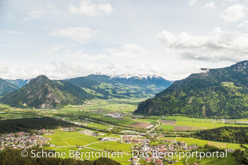 Achensee - Blick ins Inntal