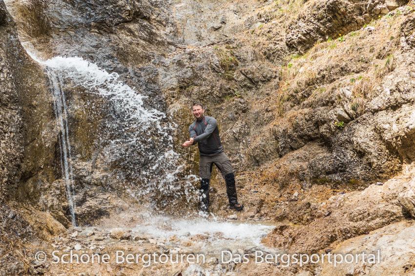 Achensee - Kleiner Wasserfall