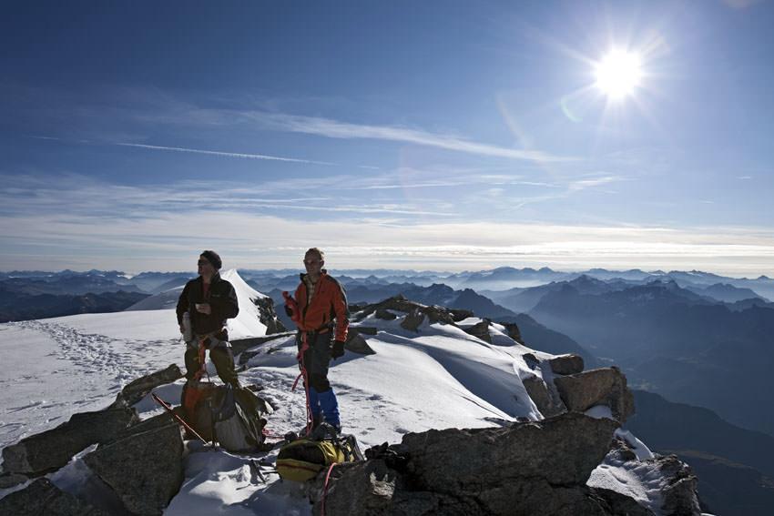 Piz Palue - Gipfel