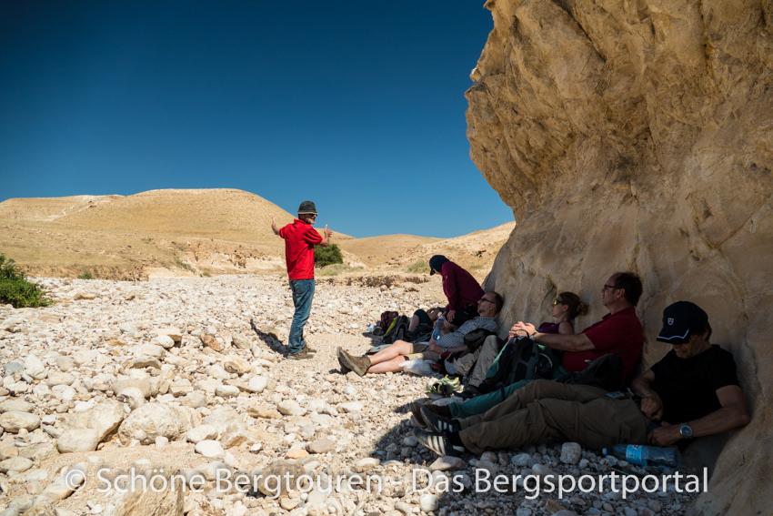 Israel - Pause im Wadi Og