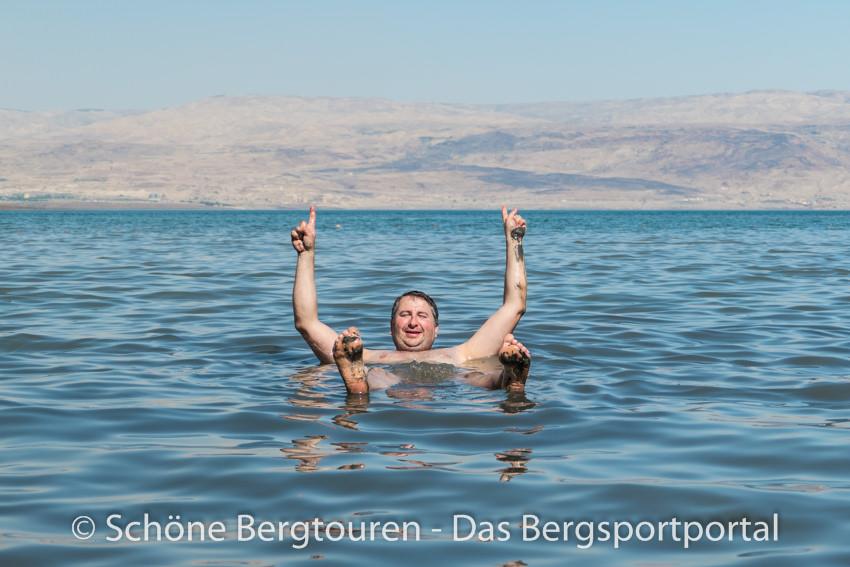 Israel - Baden im Toten Meer