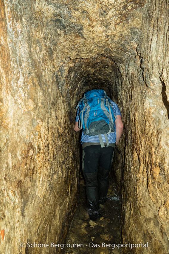 Israel - Im Hiskija-Tunnel in Jerusalem