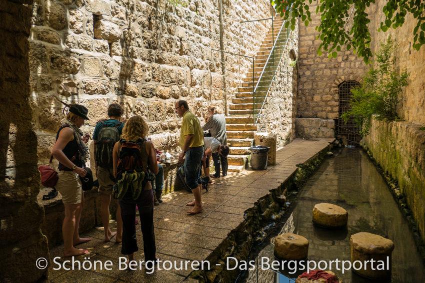 Israel - Am Shiloah Teich