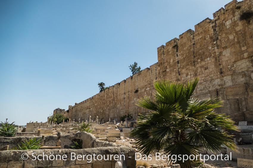 Israel - Muslimischer Friedhof in Jerusalem