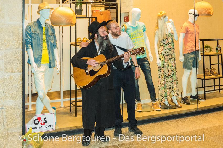 Israel - Strassenmusikant in Jerusalem
