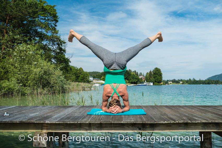 Woerthersee - Yogalehrerin Petra Musenbichler