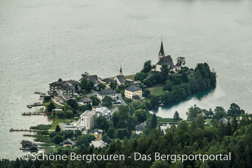Woerthersee - Blick nach Maria Woerth