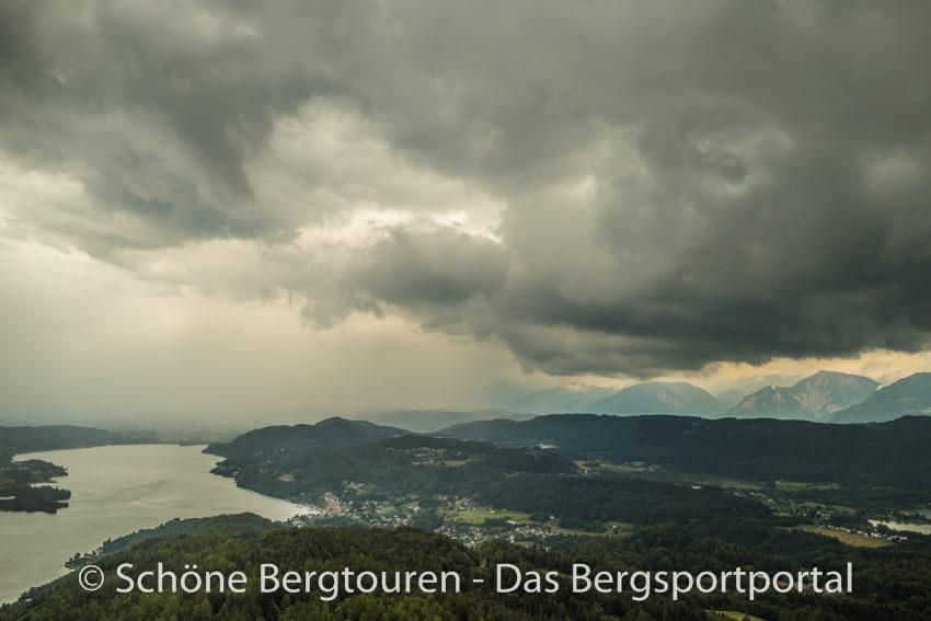 Woerthersee - Blick gen Osten