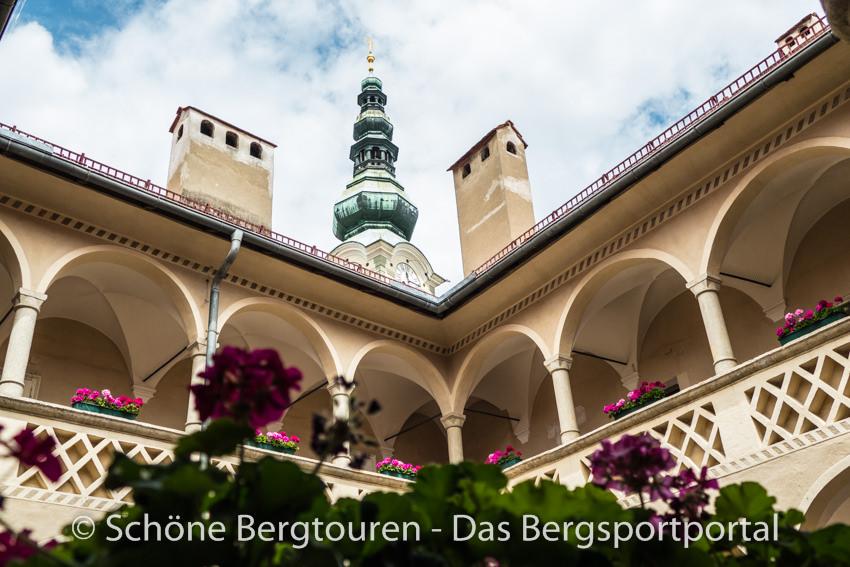 Klagenfurt - Schoene Innenhoefe