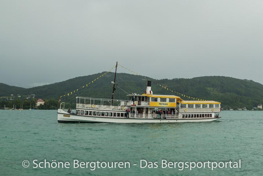 Woerthersee - Schiff bei Klagenfurt