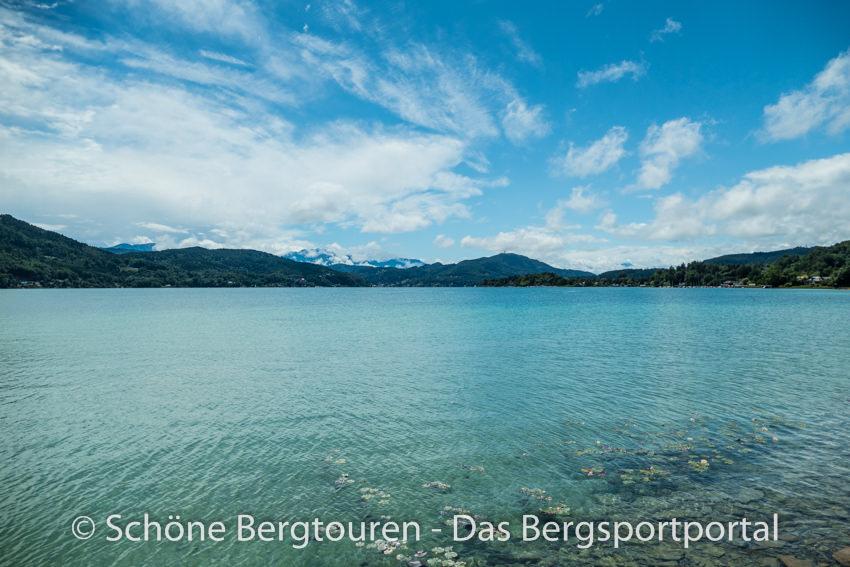 Woerthersee - Blauer Himmel