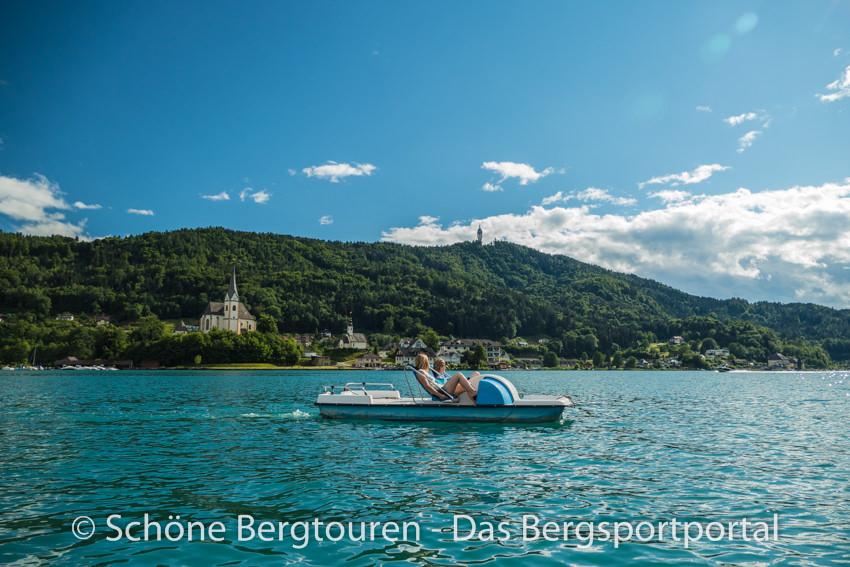 Woerthersee - Tretboot fahren