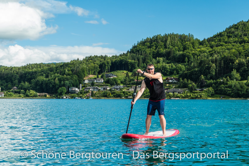 Woerthersee - Stand Up Paddling