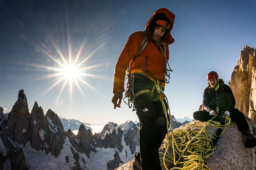A Line Across the Sky - Alex Honnold and Tommy Caldwell