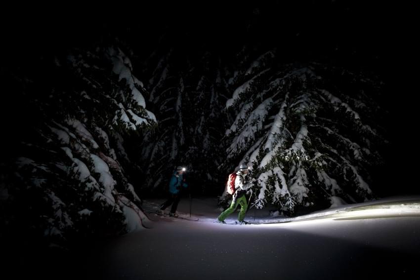 Dynafit Nachtspektakel - Beim Aufstieg