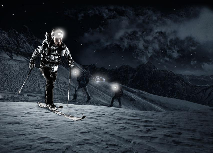 Dynafit Nachtspektakel - Keyvisual