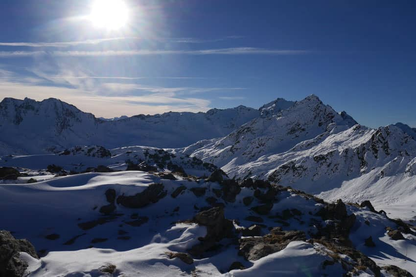 Bergauf-Bergab - Panorama Arlberggebiet