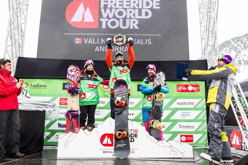 Swatch Freeride World Tour 2016 Vallnord-Arcalis