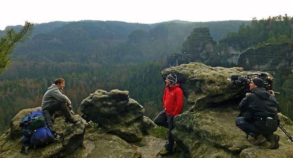 Biwak - Trekking Trio im Winter 2