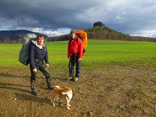 Biwak - Trekking Trio im Winter1