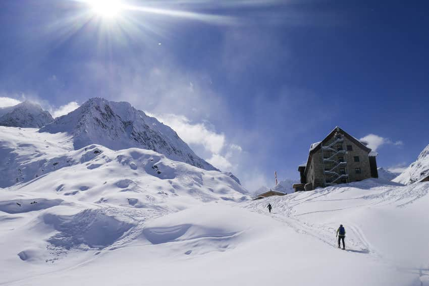 Bergauf-Bergab - Auf dem Weg zur Franz Senn Huette