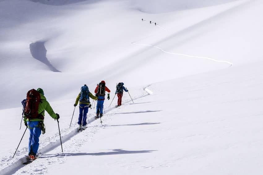 Bergauf-Bergab - Skitouren in Bergell