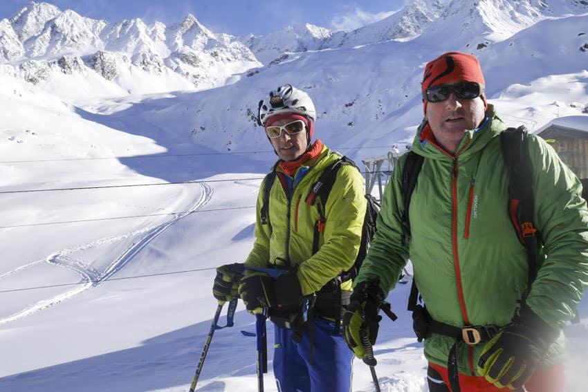 Bergauf-Bergab - Rudi Mair und Patrick Nairz vom Lawinenwarndienst Tirol