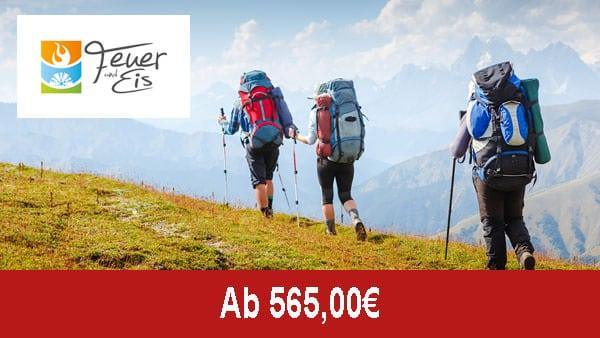 Feuer und Eis Touristik - Alpenueberquerung