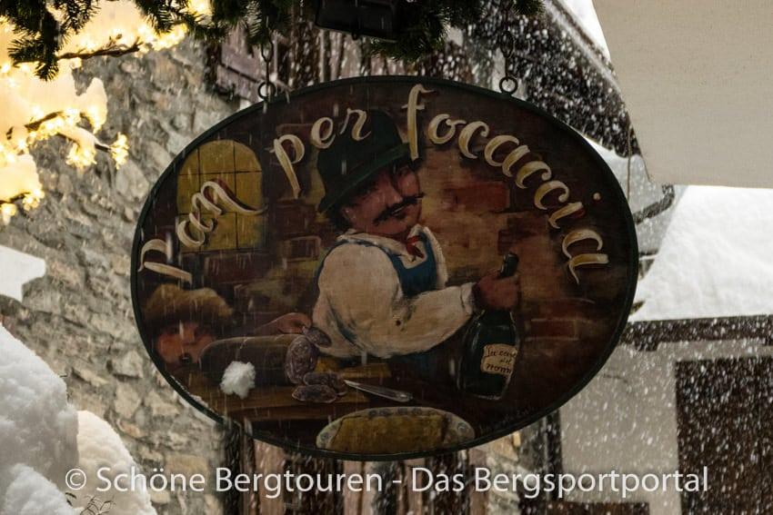 Courmayeur - Pizzeria Pan per Focaccia
