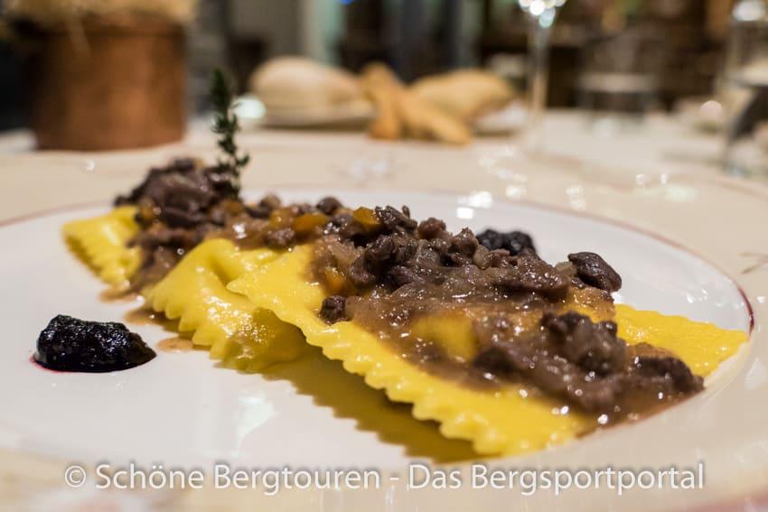 Restaurant La Chaumiere - Tortelli di ricotta
