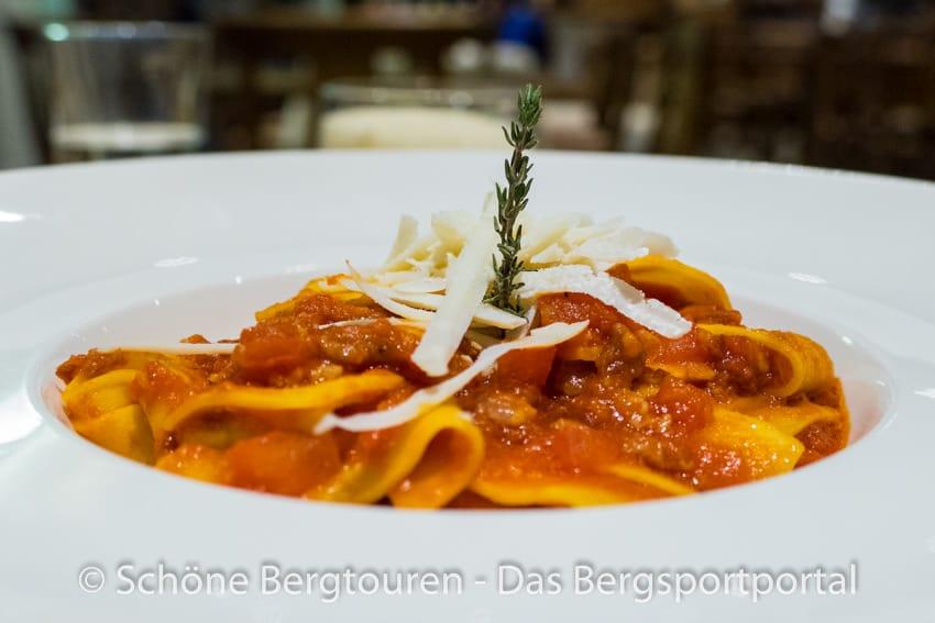 Restaurant La Chaumiere - Maltagliati fatti