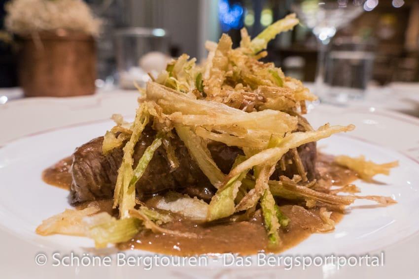 Restaurant La Chaumiere - Tournedos classico alla Rossini