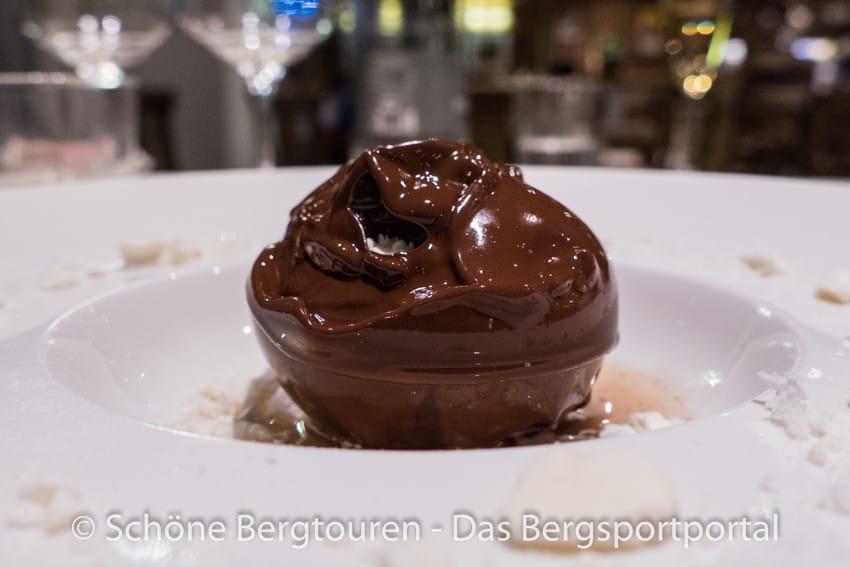 Restaurant La Chaumiere - Monte Bianco di castagne