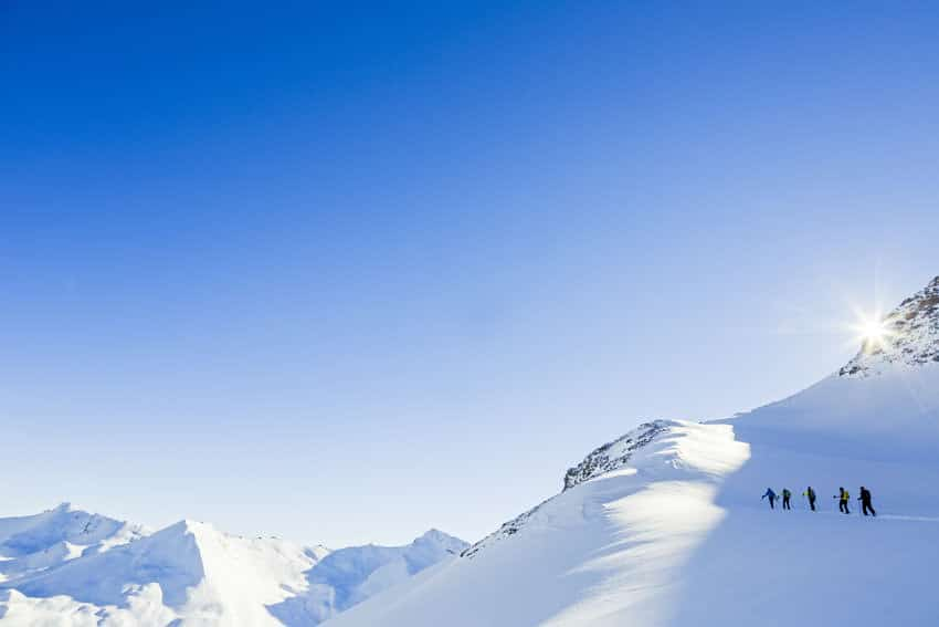 Bergauf-Bergab - Bergfuehrerausbildung