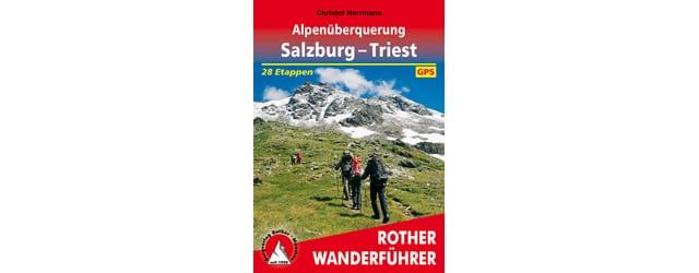 Rother Wanderfuehrer Salzburg - Triest - Cover