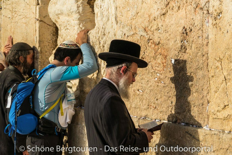 Israel - An der Klagemauer in Jerusalem