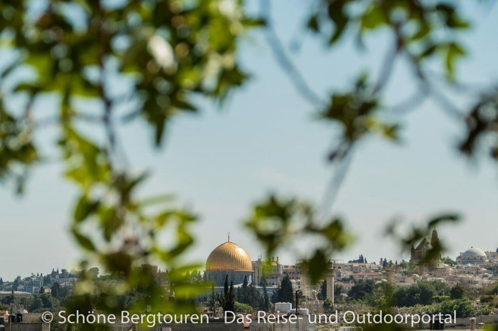 Israel - Goldene Kuppel des Felsendoms