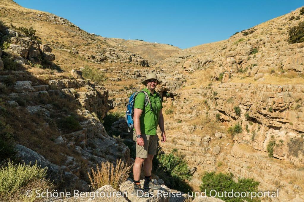 Israel - Wandern im Wadi Qelt