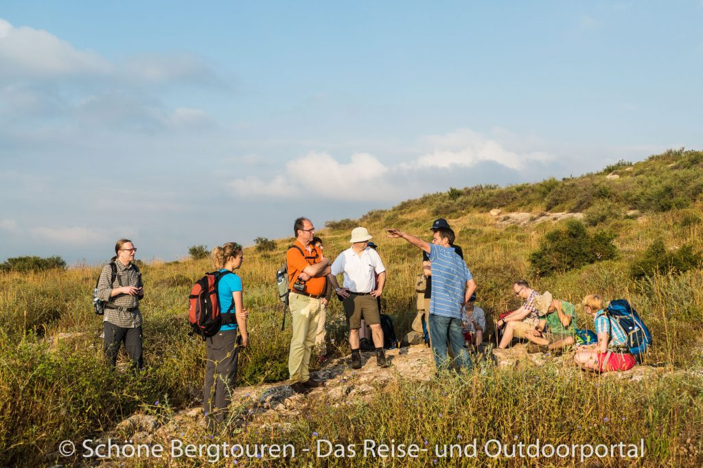 Israel - Wanderpause auf dem Jerusalem-Weg