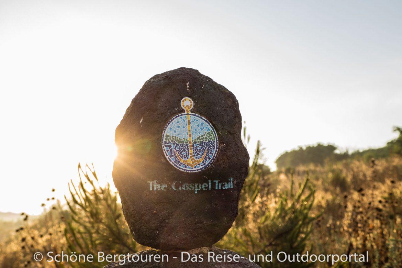 Israel - Wegmarkierung des Gospel Trail