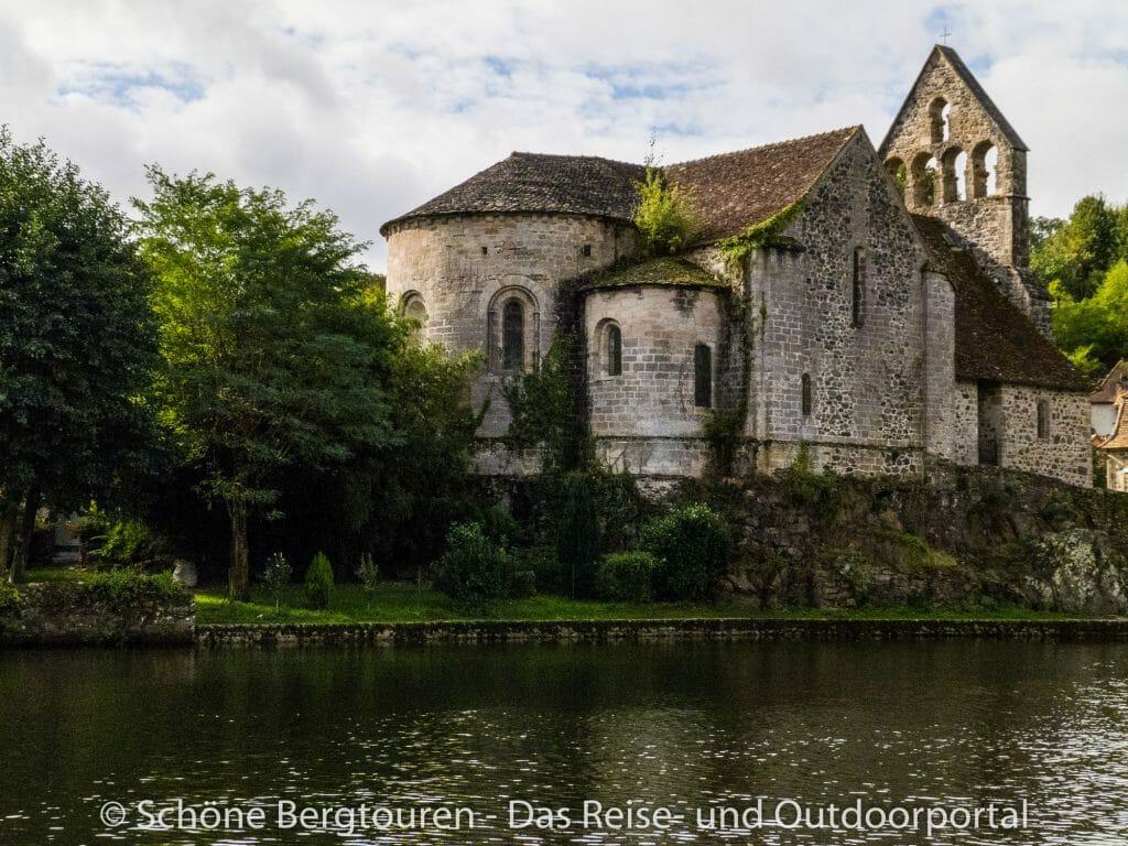 Limousin - Buesserkirche in Beaulieu-sur-Dordogne