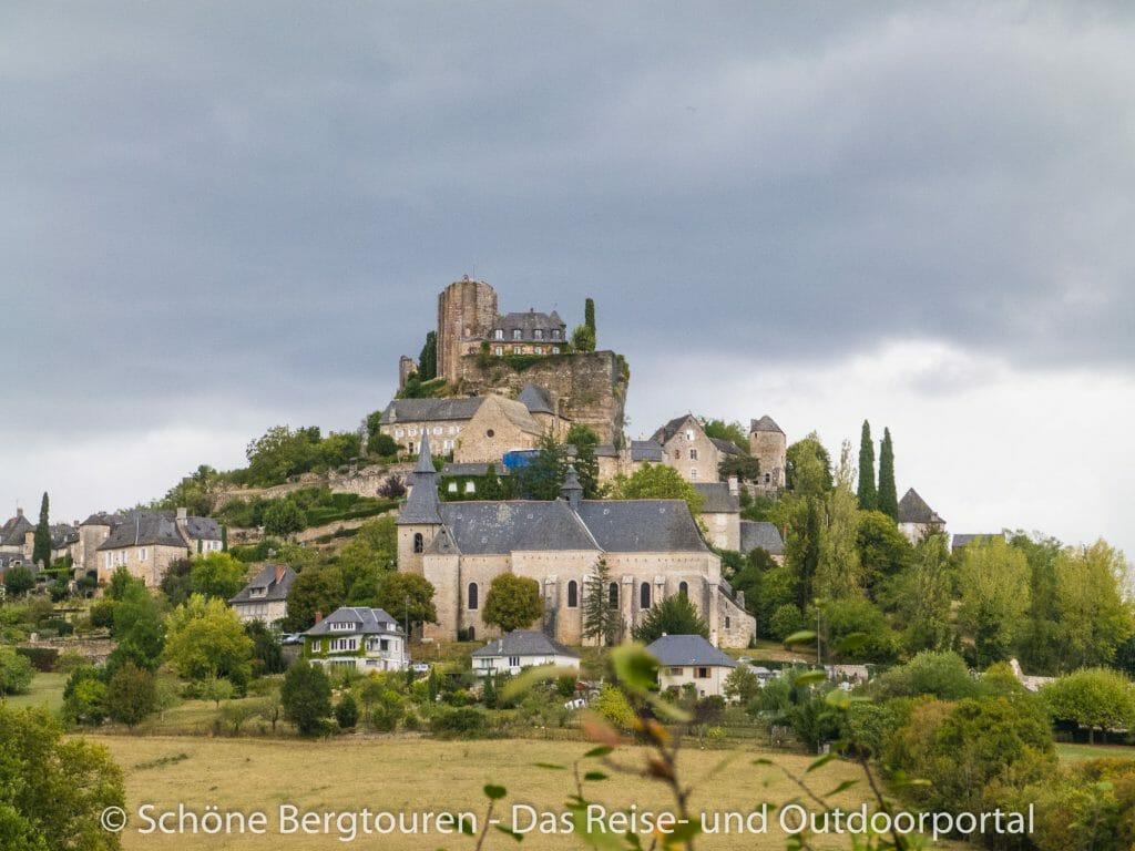 Limousin - Burgruine Turenne