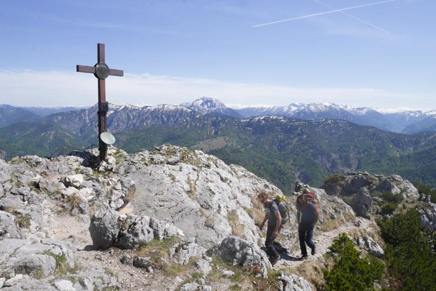 Bergauf-Bergab - Gipfel vom Buchstein