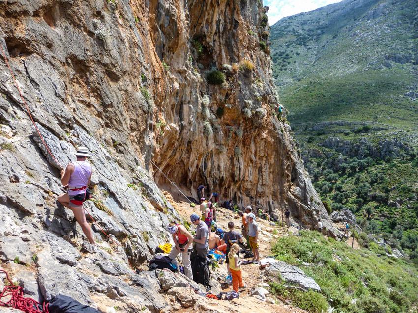 Bergauf-Bergab - Im wilden Kalk von Kalymnos