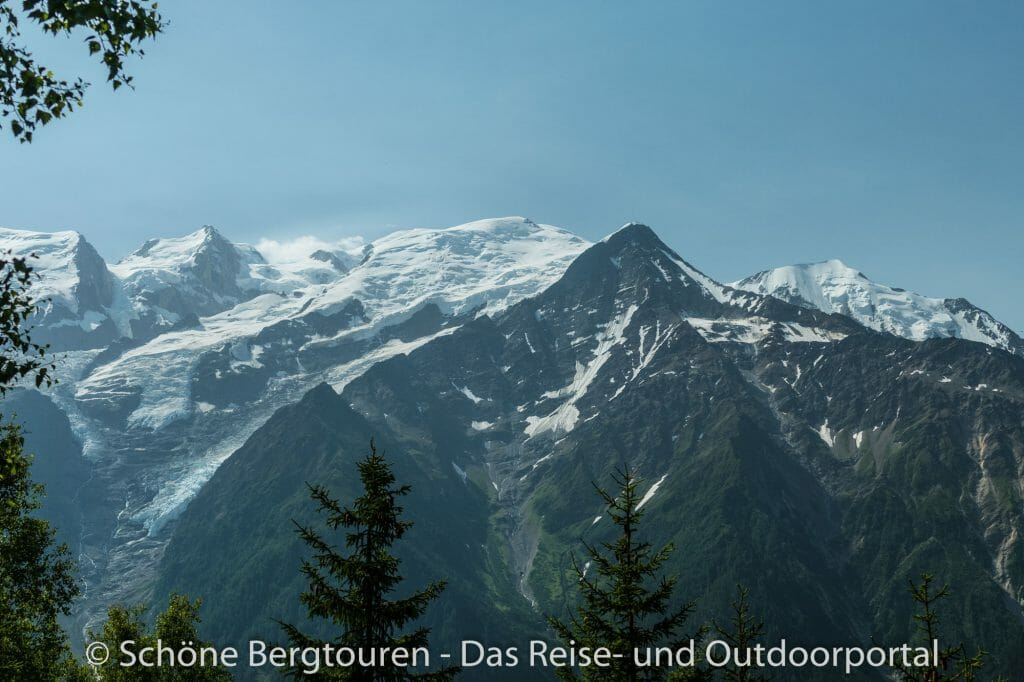 Chamonix - Blick zum Mont Blanc