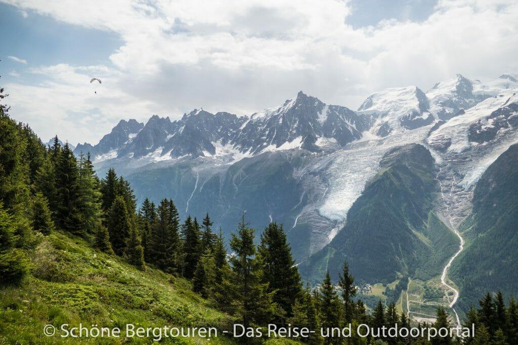 Chamonix - Herrliches Bergpanorama